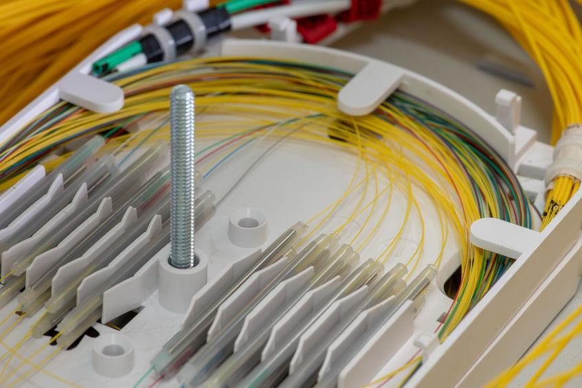 Glasfaserkabel verbinden